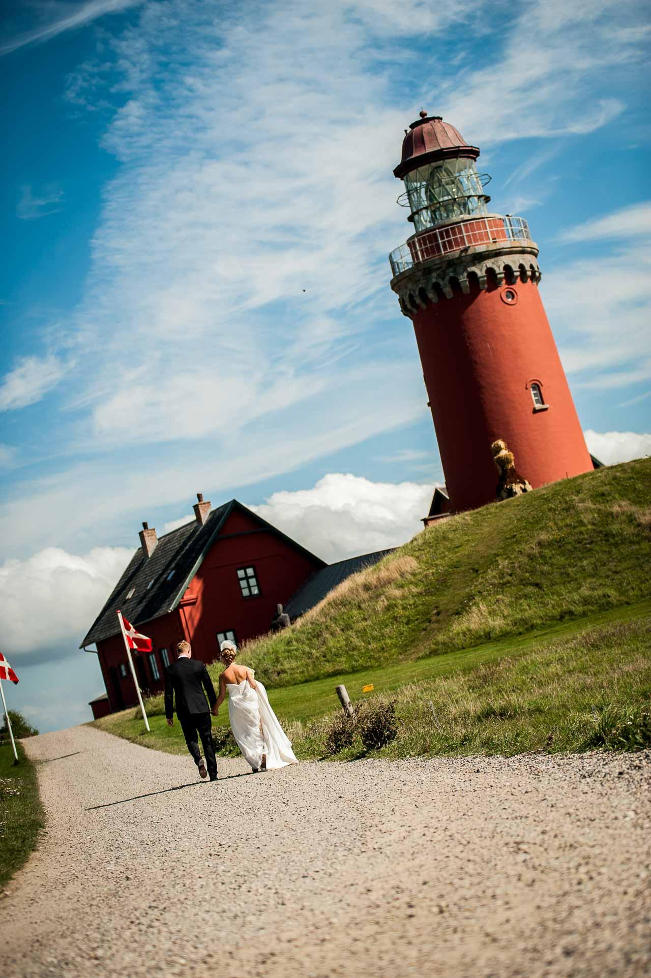 Bryllupsfotografering i Vestjylland